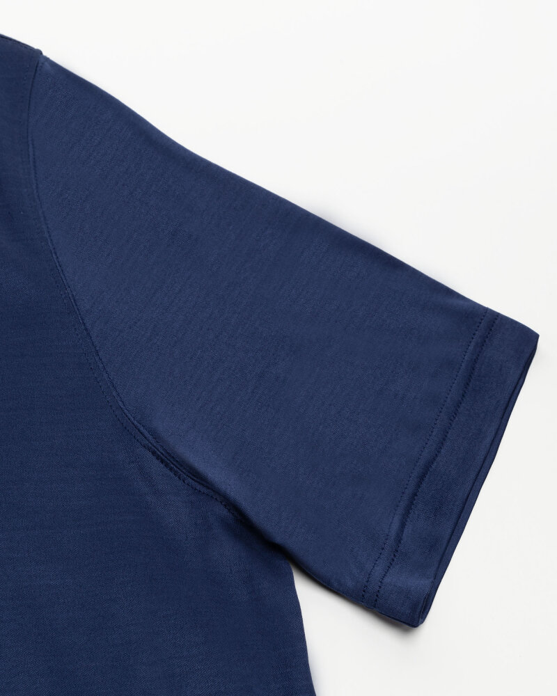 T-Shirt Eton 1000_02356_26 granatowy - fot:4
