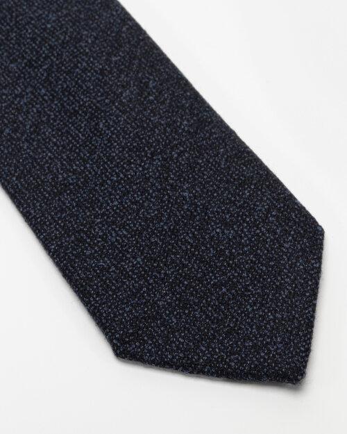 Krawat Eton A000_32597_28 granatowy