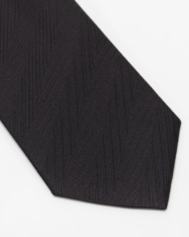 Krawat Eton A000_32661_18 czarny - fot:2