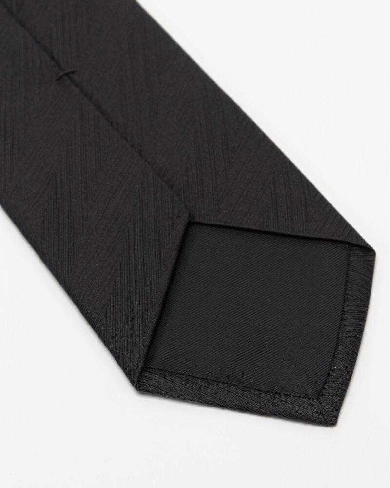Krawat Eton A000_32661_18 czarny - fot:3