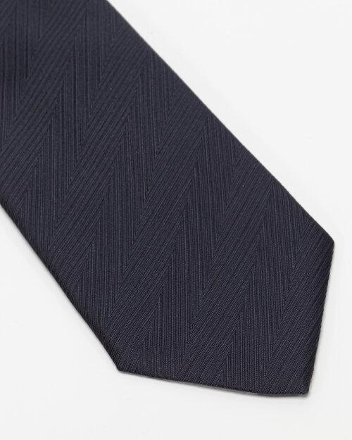 Krawat Eton A000_32661_28 granatowy