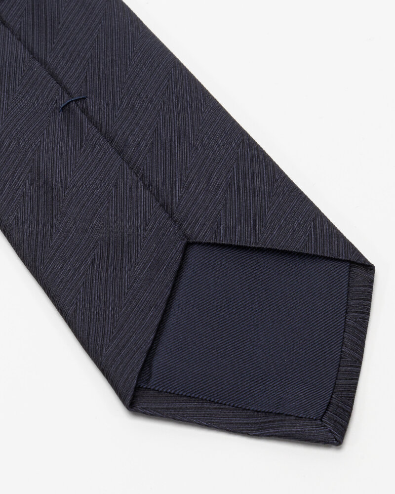 Krawat Eton A000_32661_28 granatowy - fot:3