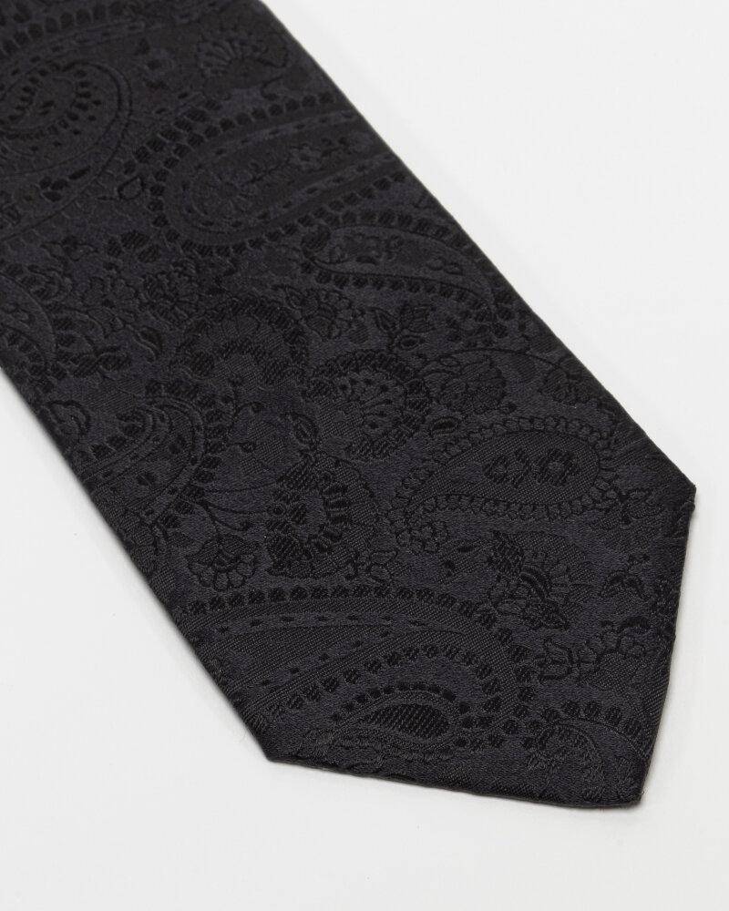 Krawat Eton A000_32666_18 czarny - fot:2