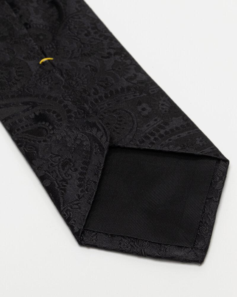 Krawat Eton A000_32666_18 czarny - fot:3