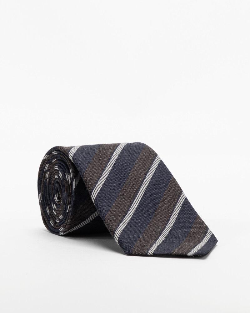 Krawat Eton A000_33100_39 granatowy - fot:1