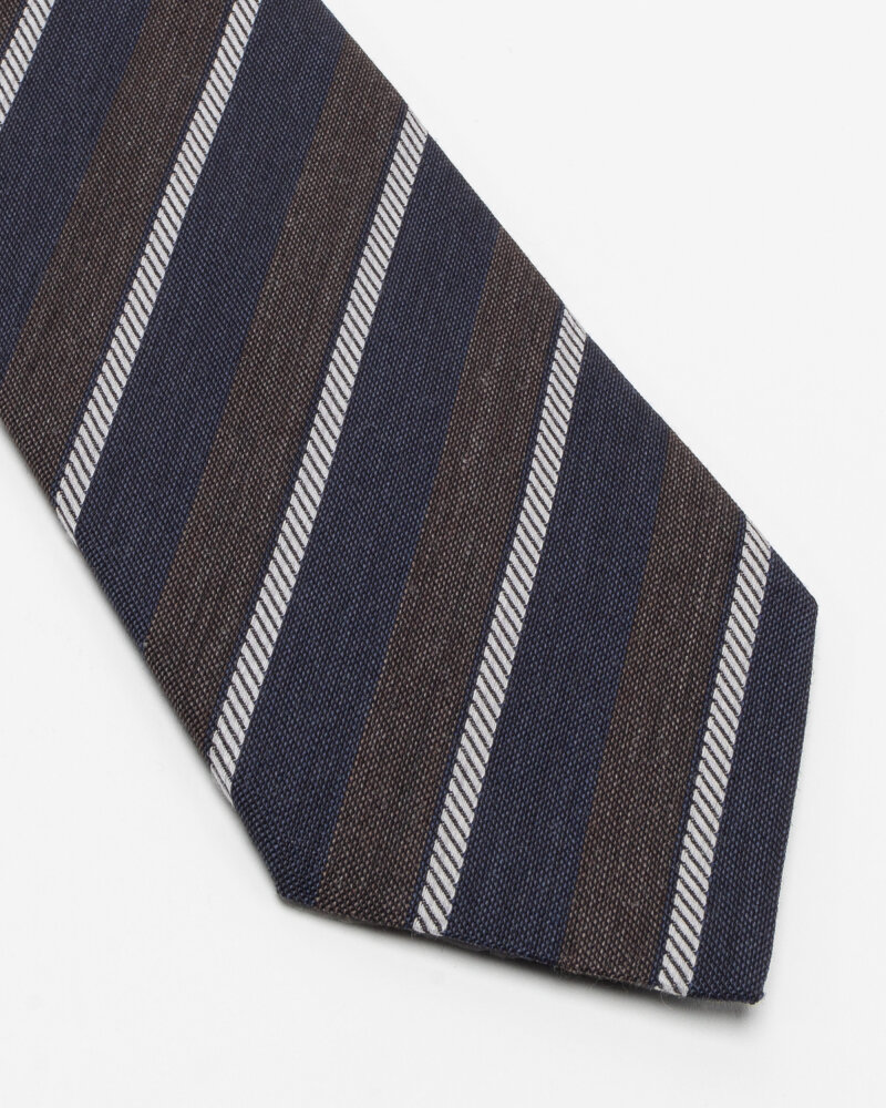 Krawat Eton A000_33100_39 granatowy - fot:2