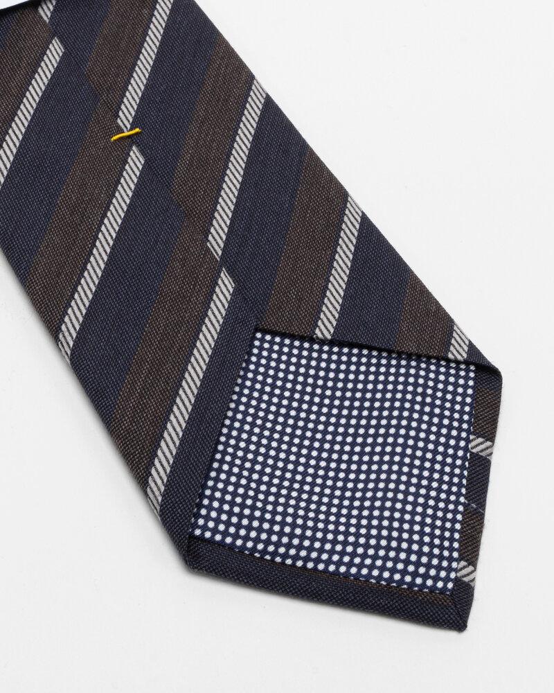 Krawat Eton A000_33100_39 granatowy - fot:3