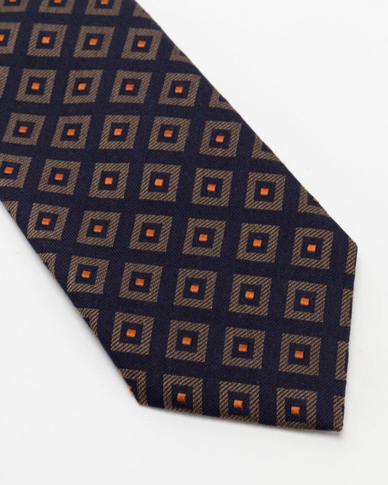 Krawat Eton A000_33140_19 granatowy - fot:2