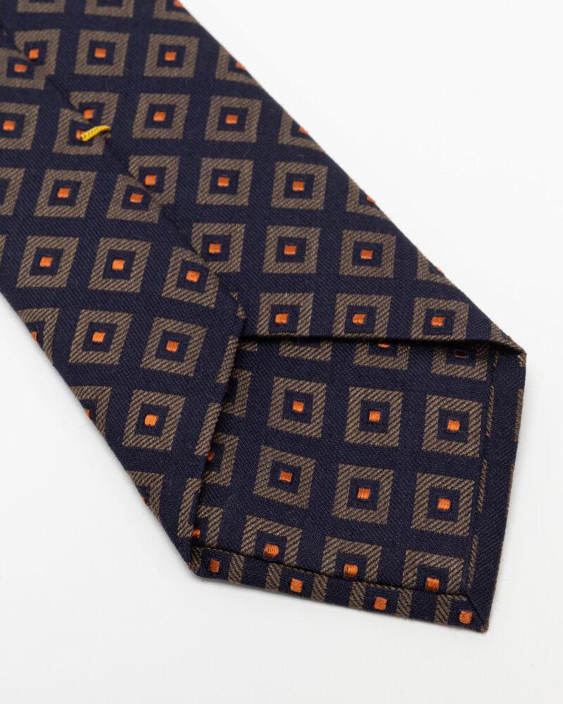 Krawat Eton A000_33140_19 granatowy - fot:3