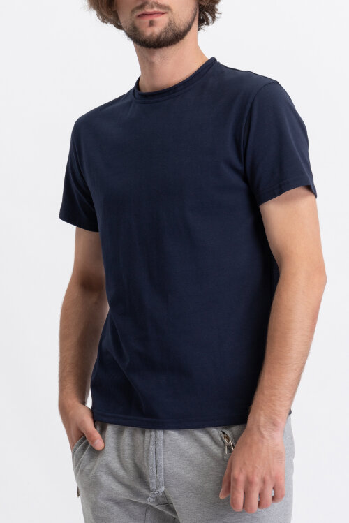 T-Shirt Philip Louis NOS_M-TSH-0042 NOS_NAVY granatowy