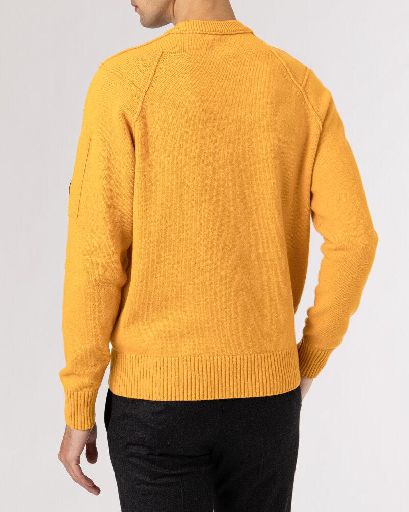 Sweter C.p. Company 11CMKN087A005504A_436 pomarańczowy - fot:4