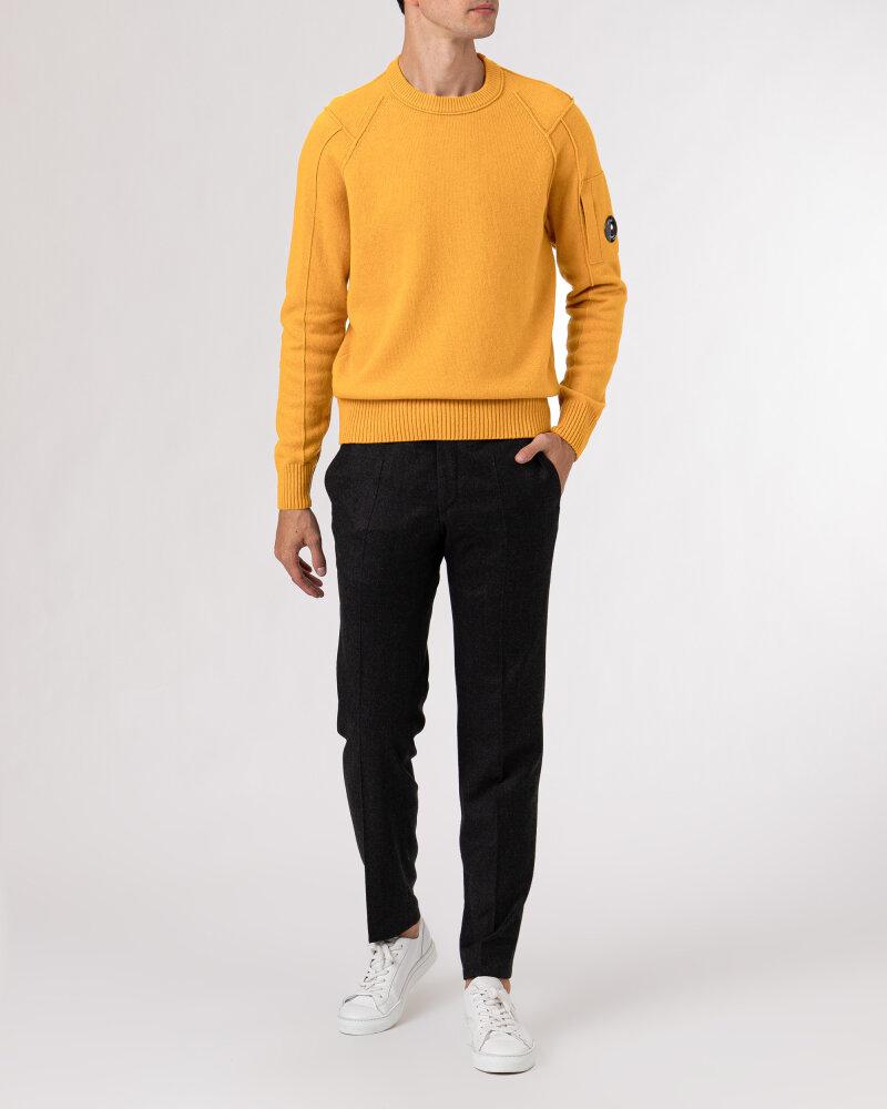 Sweter C.p. Company 11CMKN087A005504A_436 pomarańczowy - fot:5