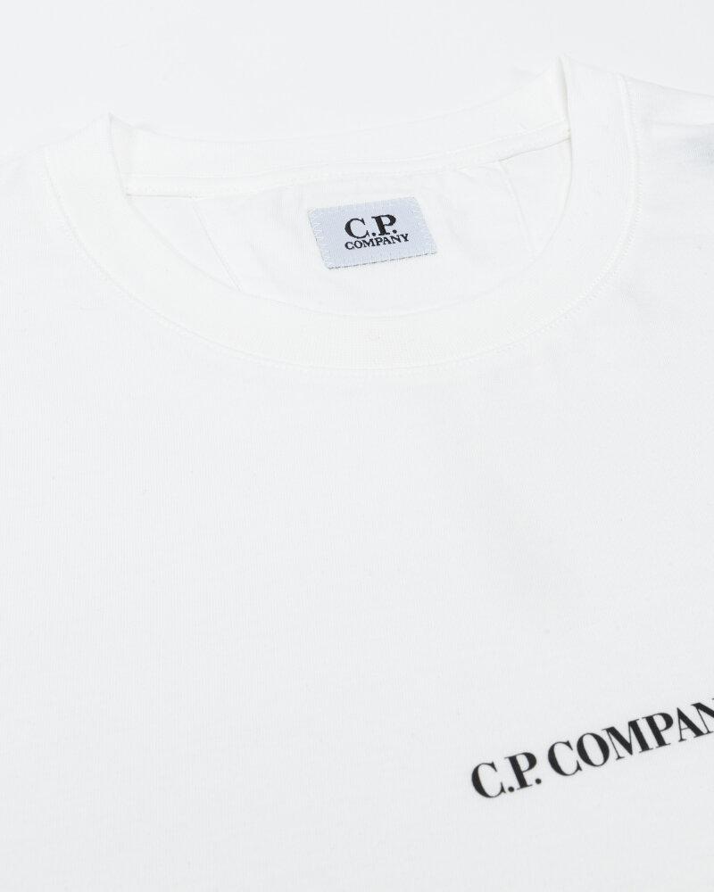 T-Shirt C.p. Company 11CMTS213A006011W_103 biały - fot:2