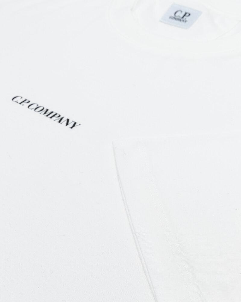 T-Shirt C.p. Company 11CMTS213A006011W_103 biały - fot:3