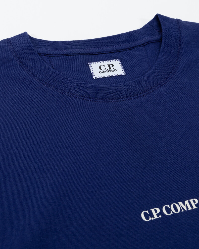 T-Shirt C.p. Company 11CMTS213A006011W_878 indygo - fot:2