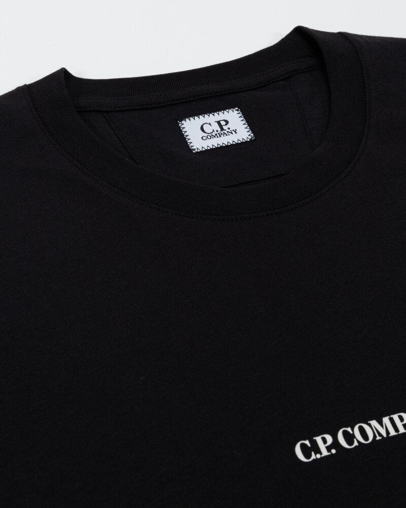 T-Shirt C.p. Company 11CMTS213A006011W_999 czarny - fot:2