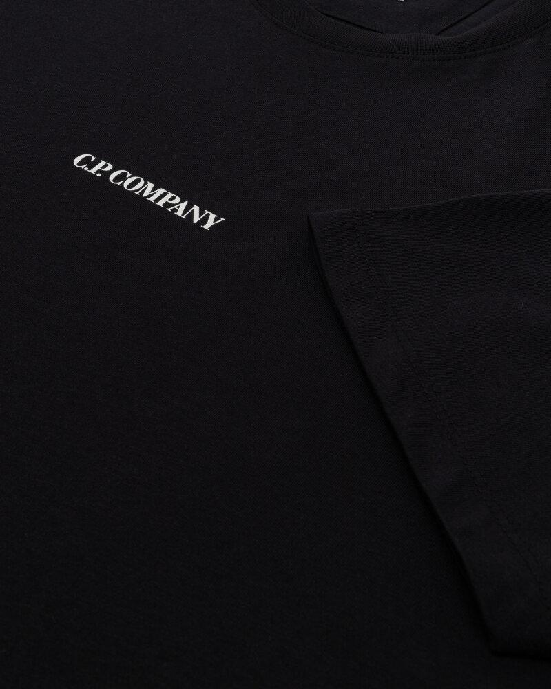 T-Shirt C.p. Company 11CMTS213A006011W_999 czarny - fot:3