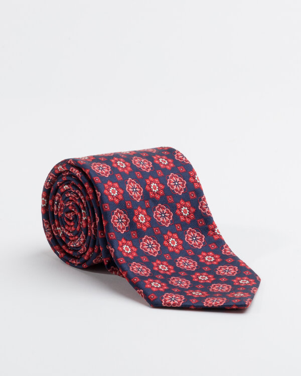Krawat Stenströms 913139_004 granatowy