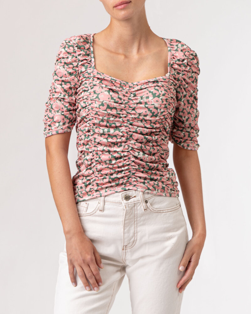 Bluzka Na-Kd 1100-004243_PINK FLOWER różowy - fot:2