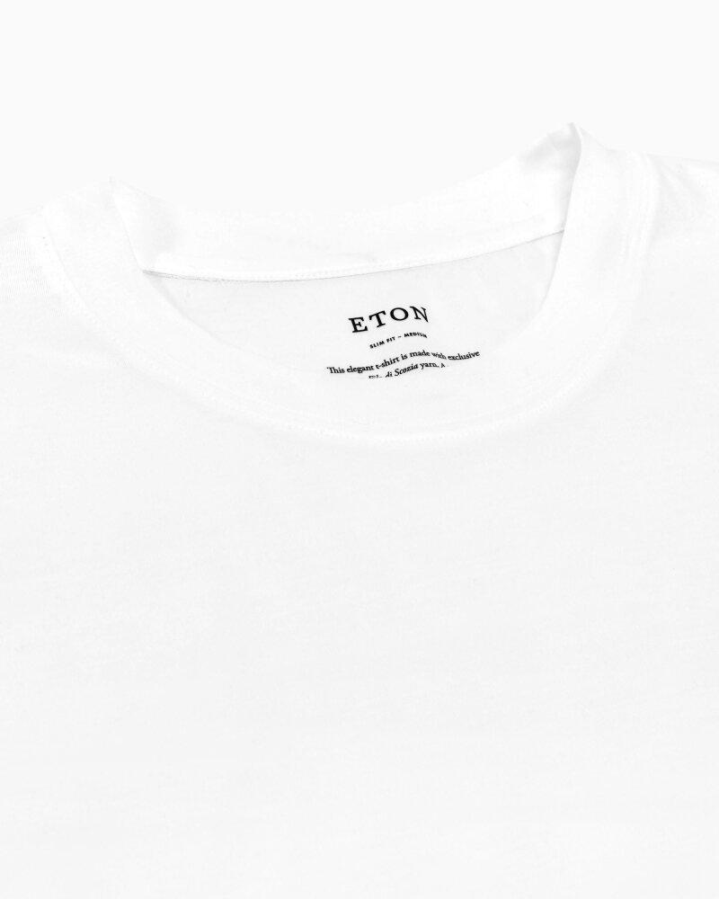T-Shirt Eton 1000_02356_00 biały - fot:4