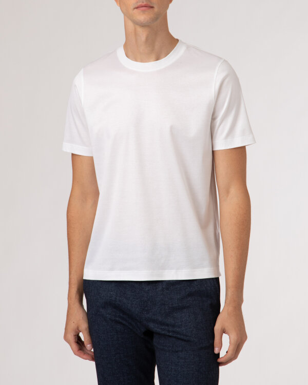 T-Shirt Eton 1000_02356_00 biały