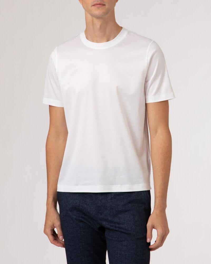 T-Shirt Eton 1000_02356_00 biały - fot:2