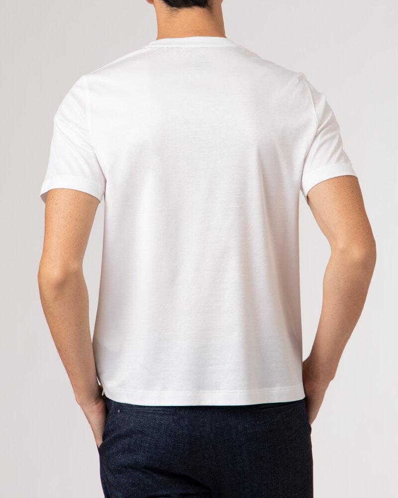 T-Shirt Eton 1000_02356_00 biały - fot:7