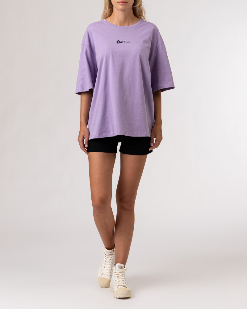 T-Shirt Na-Kd 1100-004261_PURPLE fioletowy - fot:5