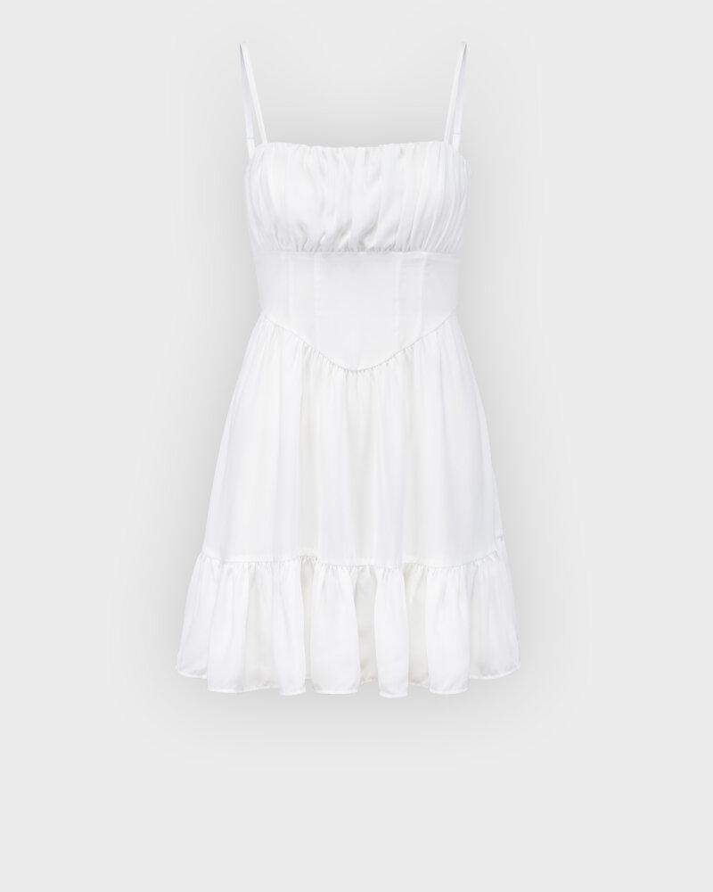 Sukienka Na-Kd 1659-000067_WHITE biały - fot:1