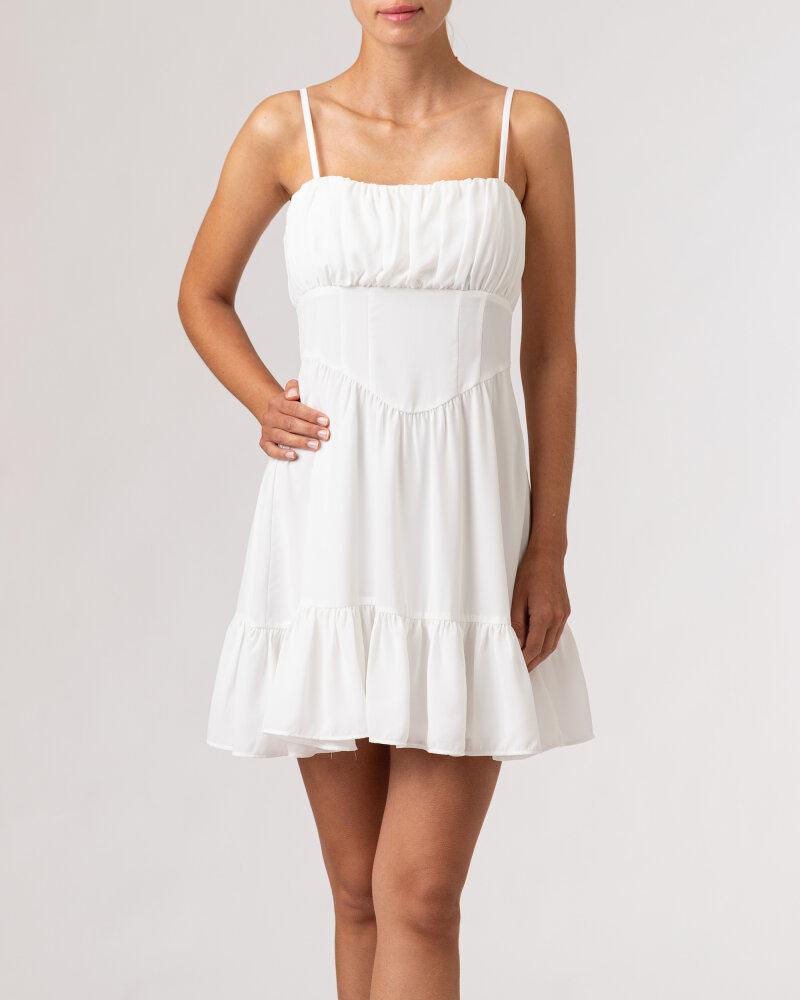 Sukienka Na-Kd 1659-000067_WHITE biały - fot:2