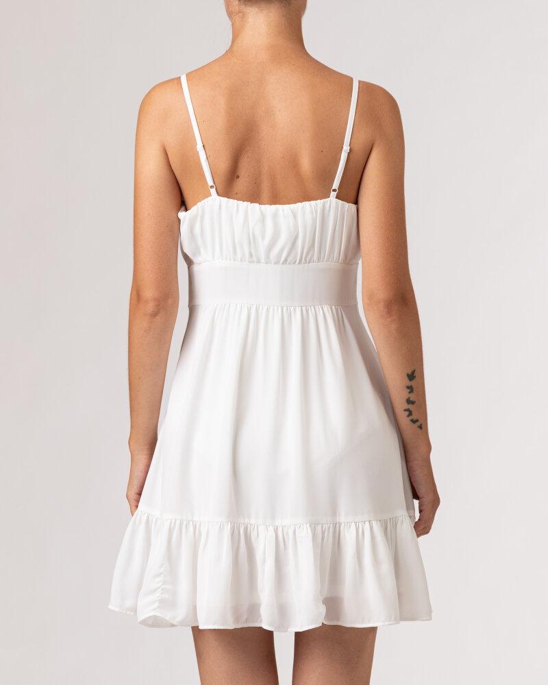 Sukienka Na-Kd 1659-000067_WHITE biały - fot:5