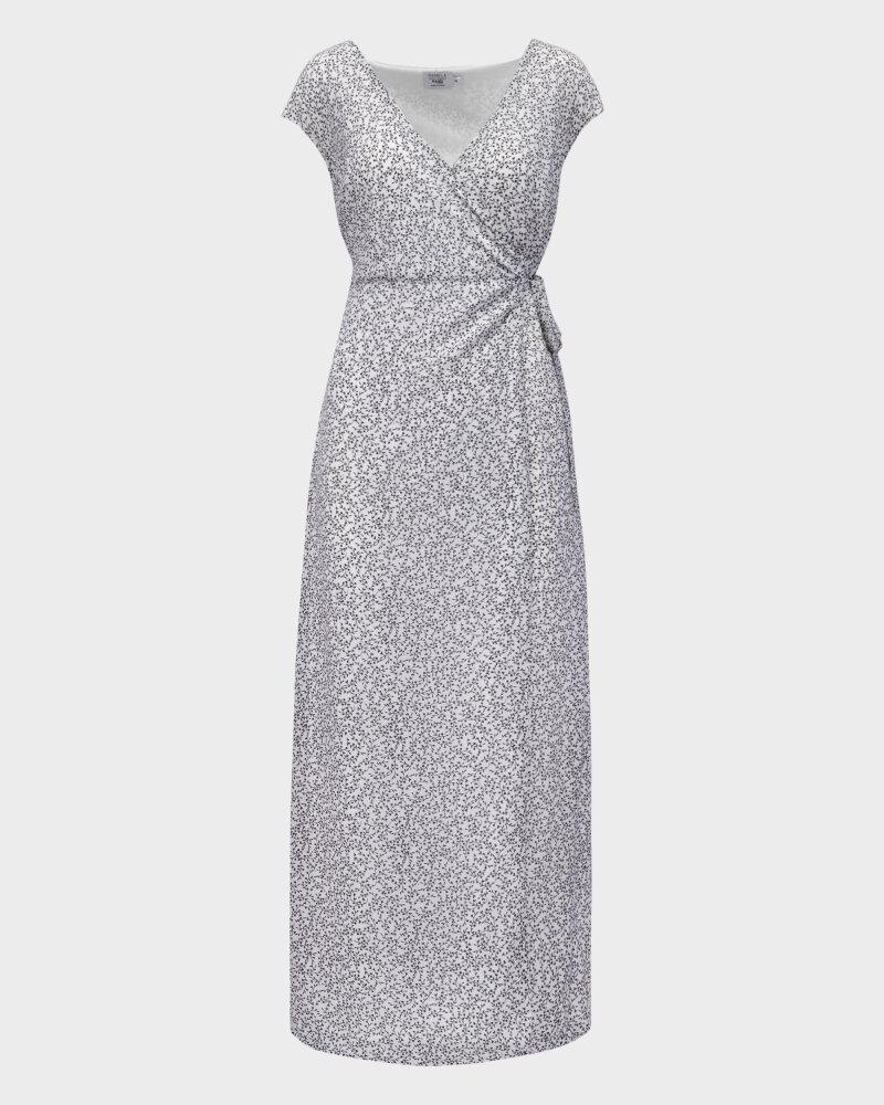 Sukienka Na-Kd 1659-000072_MINI LEAVES 9438 biały - fot:1