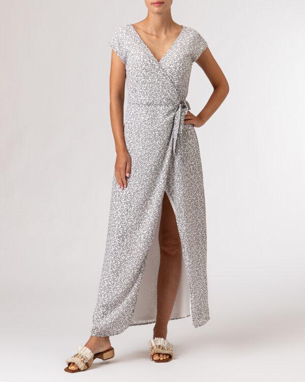 Sukienka Na-Kd 1659-000072_MINI LEAVES 9438 biały