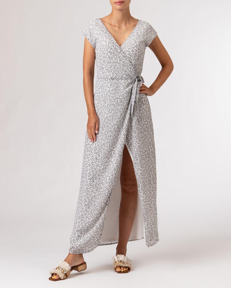 Sukienka Na-Kd 1659-000072_MINI LEAVES 9438 biały - fot:2