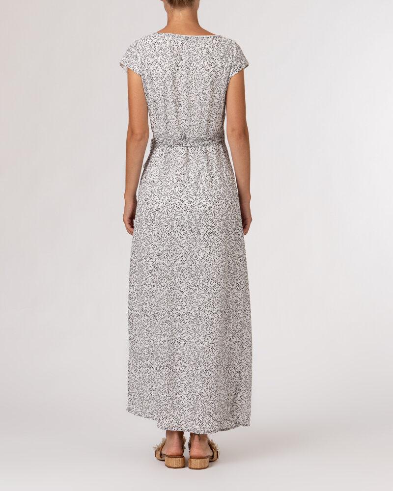 Sukienka Na-Kd 1659-000072_MINI LEAVES 9438 biały - fot:5