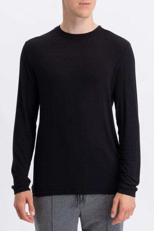 T-Shirt Philip Louis M-TSH-0036 NOS_BLACK czarny