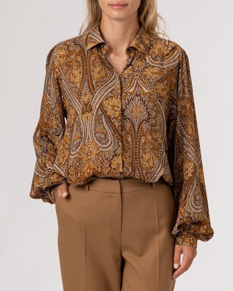 Koszula Stenstroms BLANCHE 261153_6870_281 brązowy - fot:2