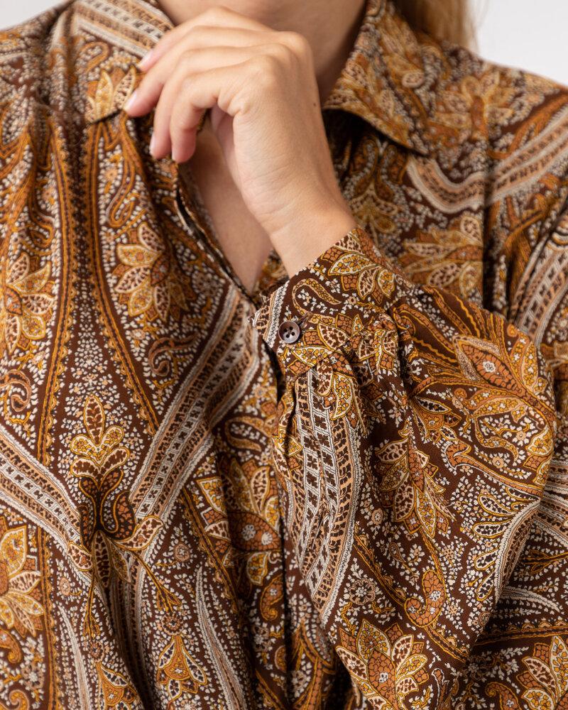 Koszula Stenstroms BLANCHE 261153_6870_281 brązowy - fot:3