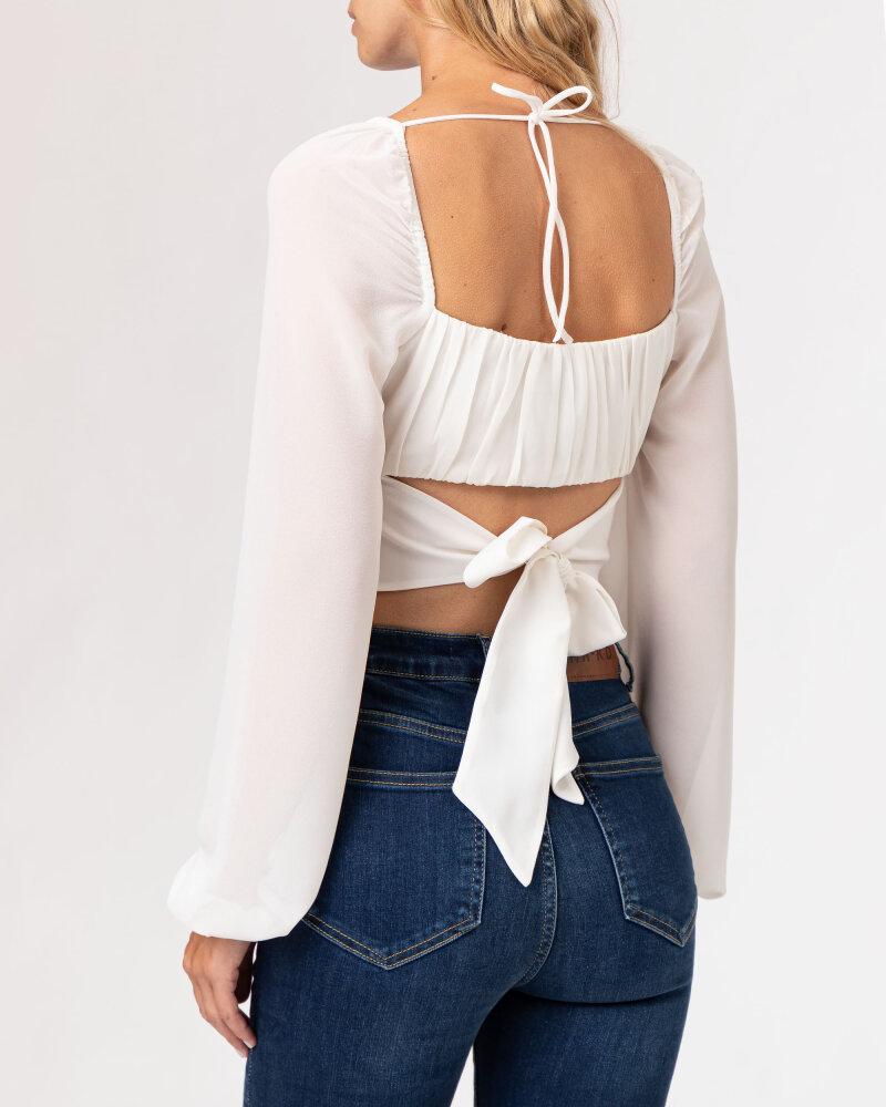 Bluzka Na-Kd 1659-000080_WHITE biały - fot:4