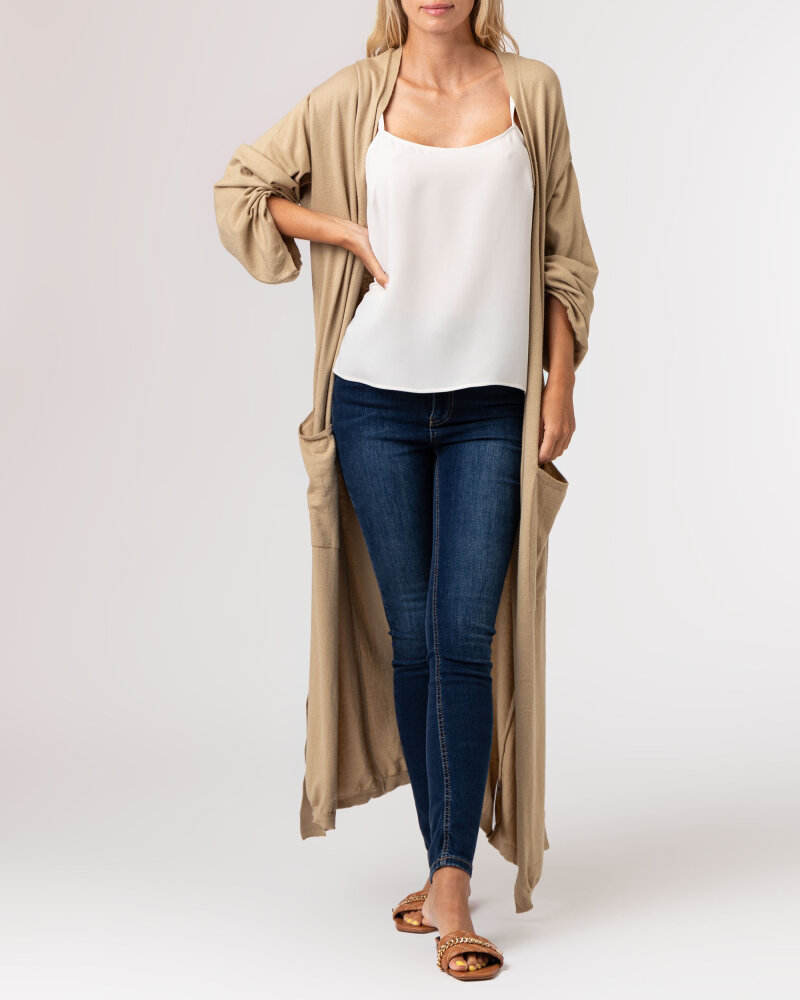 Sweter Na-Kd 1100-004266_KHAKI khaki - fot:2