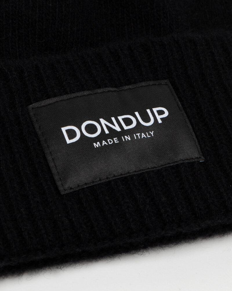 Czapka Dondup UQ100_Y00480U_999 czarny - fot:3