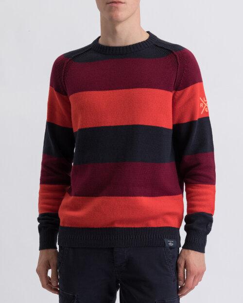 Sweter Lerros 2995037_486 czerwony