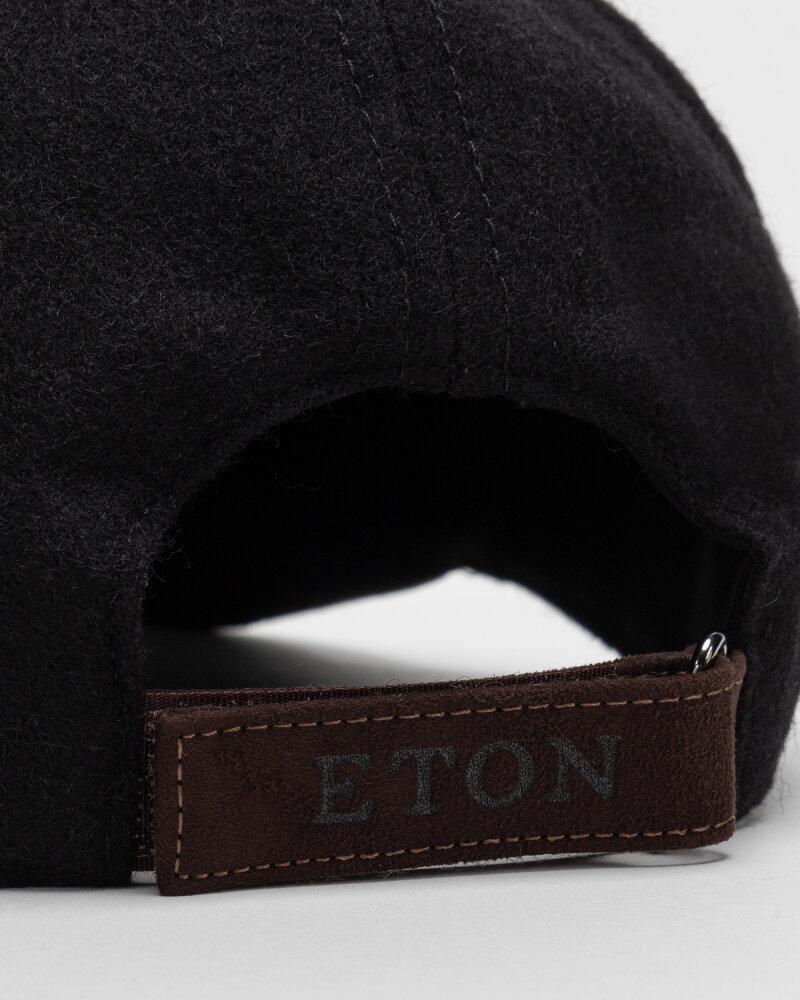 Czapka Eton A000_33155_BLACK czarny - fot:3