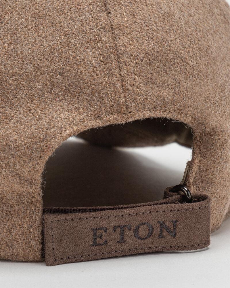 Czapka Eton A000_33155_BROWN beżowy - fot:3