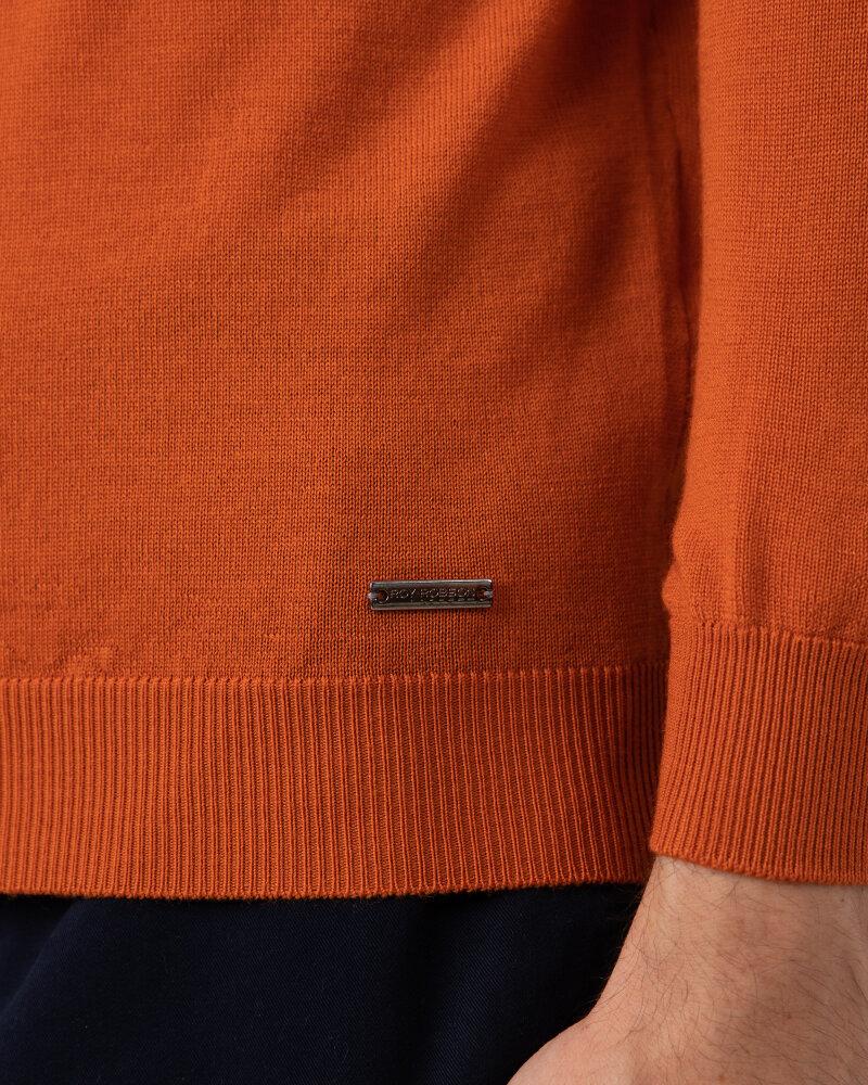 Sweter Roy Robson D91050541739900/04_A820 pomarańczowy - fot:3