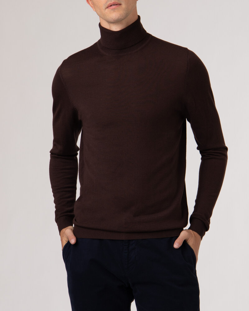Sweter Roy Robson D91050541739900/04_A201 brązowy - fot:2