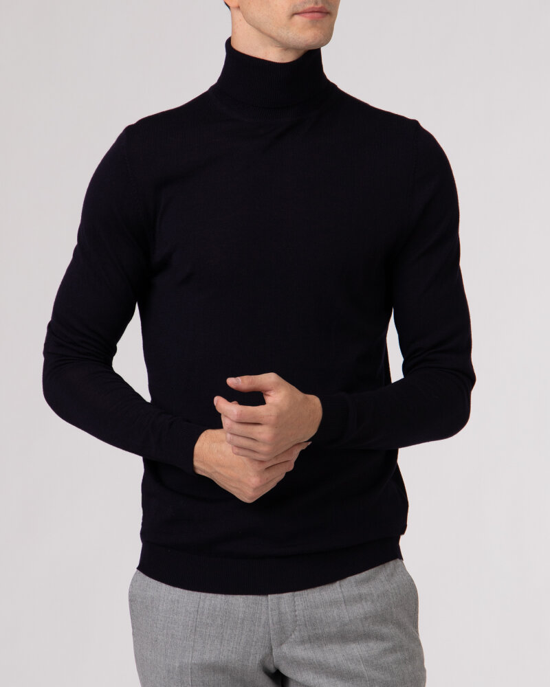 Sweter Roy Robson D91050541739900/04_A401 granatowy - fot:2