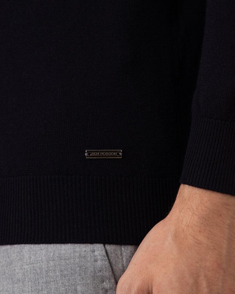 Sweter Roy Robson D91050541739900/04_A401 granatowy - fot:4