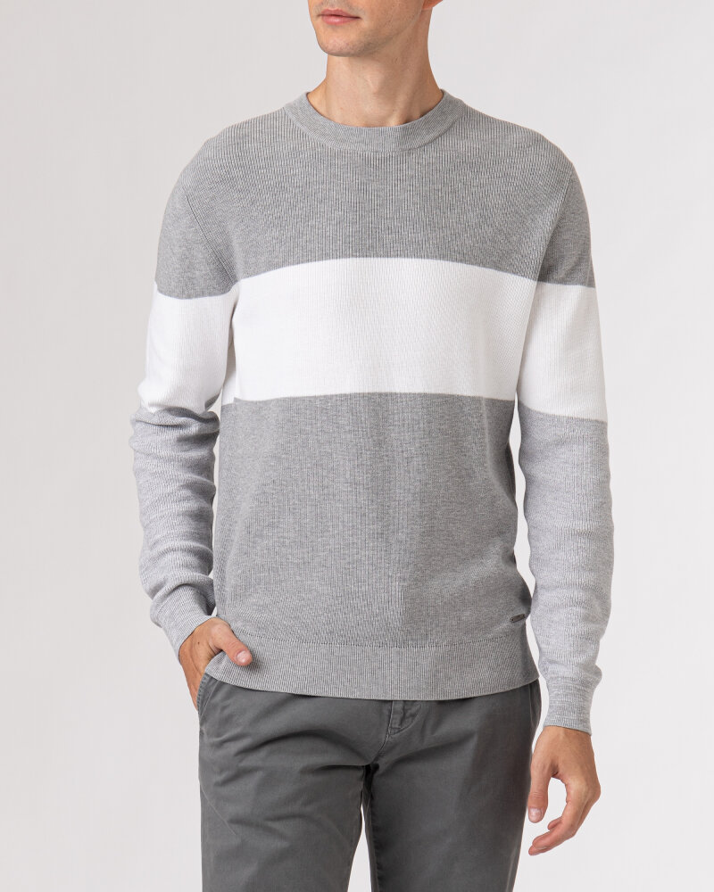 Sweter Roy Robson 091058421081500/01_Z060 szary - fot:2