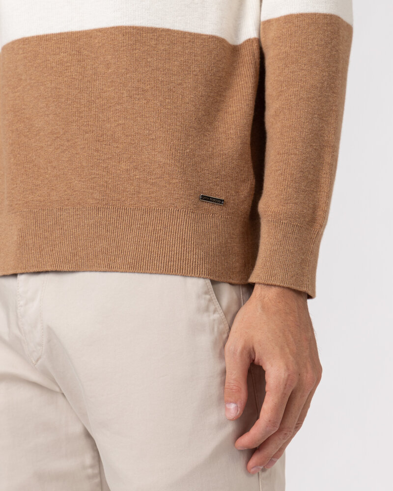 Sweter Roy Robson 091058571079500/01_D240 beżowy - fot:5